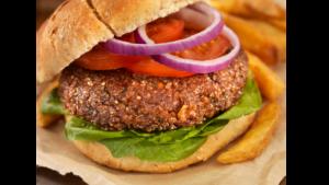 hamburguesa de quinua