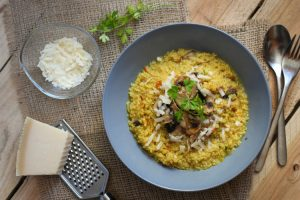 risotto de quinua