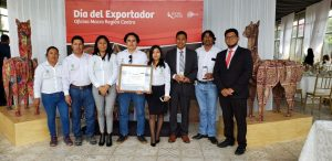 """Recognition by PROMPERU in the category """"EXPORTING EFFORT"""""""